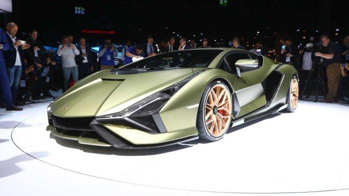 2019 Lamborghini Sian