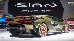 2019 Lamborghini Sian FKP 37