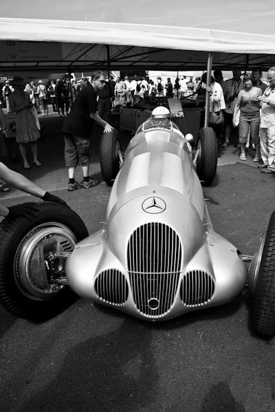 1937 Mercedes Benz Silver Arrow W 125