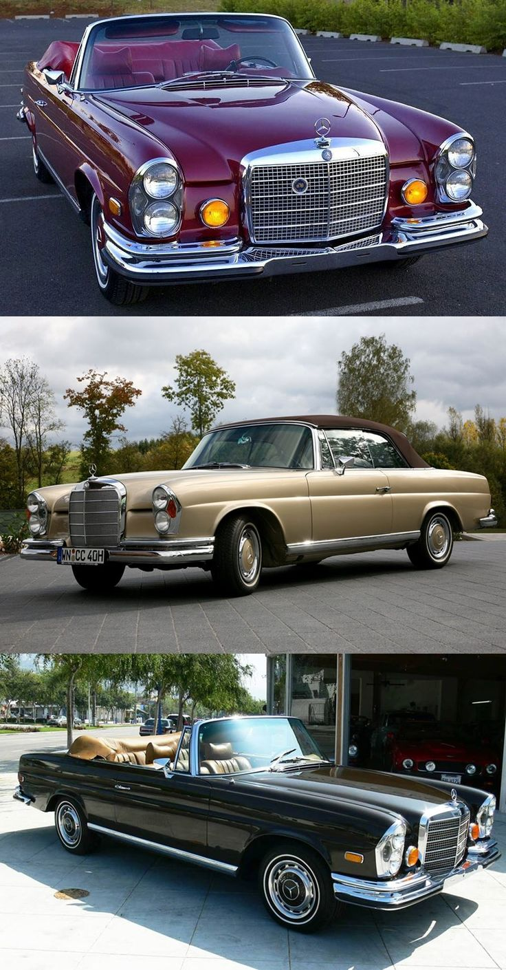 1972 Mercedes Benz S Class Convertible | Jennifer Rodgers's Blog