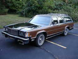 Mercury : Grand Marquis Colony Park LS 1985 mercury grand marquis colony park ls woody wagon low ...