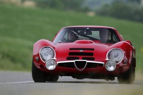 1967 Alfa Romeo TZ2 designed by Zagato
