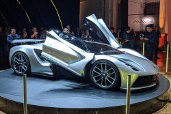 2019 New Lotus Evija electric hypercar makes dynamic video debut | Autocar