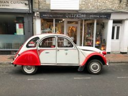 2CV Spotted at Ventnor Isle of Wight