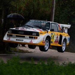 1985 Audi Quattro S1 Group B Rally Car