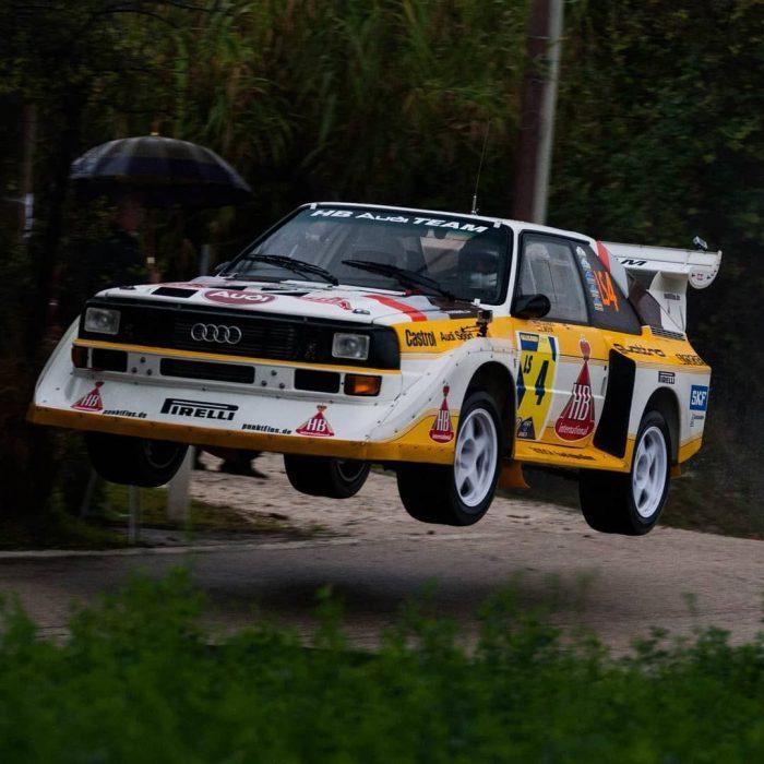 1985 Audi Quattro S1 Group B Rally Car