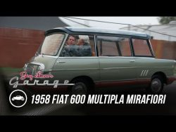 (2) Two of Five Ever Built: 1958 Fiat 600 Multipla Mirafiori – Jay Leno's Garage – Y ...