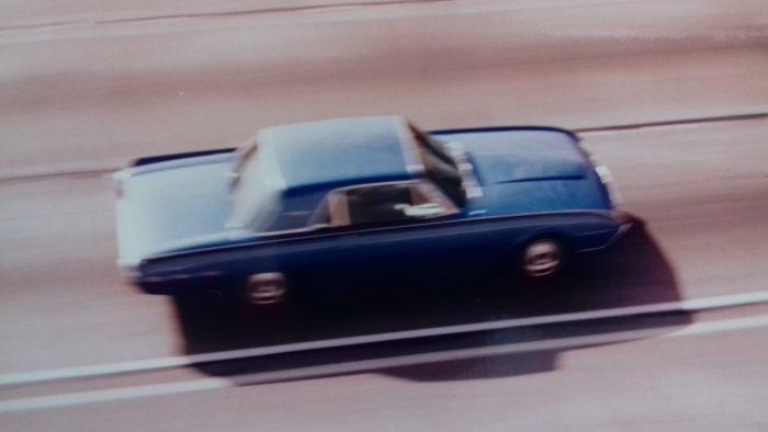 1961 Ford Thunderbird (on the Hollywood Freeway, 1992)
