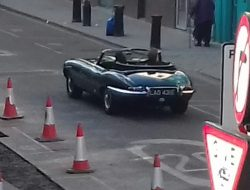 1967 Jaguar E-Type Series 1 Roadster (on Portobello Rd., Notting Hill)