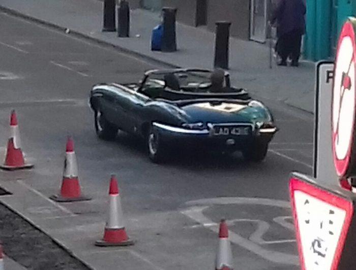 1967 Jaguar E-Type Series 1 Roadster (on Portobello Rd., Notting Hill)