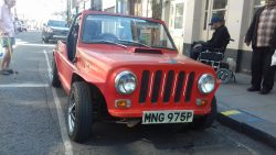 1977 (MGB GT-based?) Mini Moke