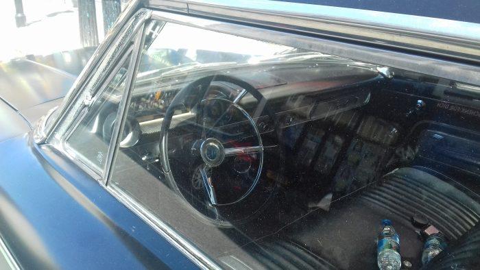1963 Ford Galaxie 500 (interior)