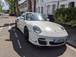 2014 Porsche 911 Turbo S.