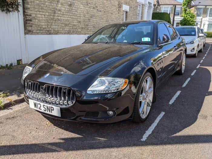 2009 Maserati Quatro Porte V8 Auto.