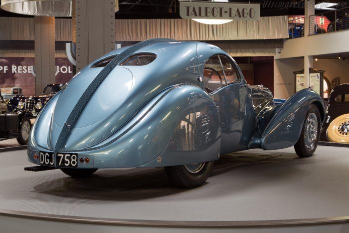 1938 Bugatti Type 57 SC Atlantic Coupe – Chassis: 57374  – Mullin Automotive Museum