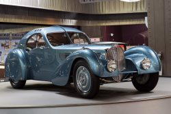 1938 Bugatti Type 57 SC Atlantic Coupe – Chassis: 57374  – Mullin Automotive Museum