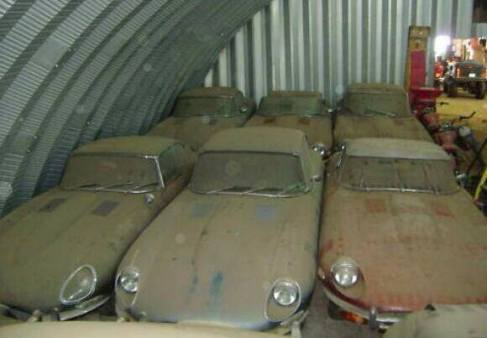 Incredible Jaguar E-Type barn find, or hoax?