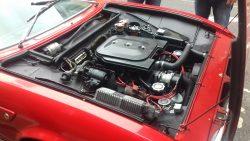 2.4 litre, 178 BHP V6 Ferrari engine