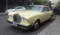 1980 Rolls Royce Corniche convertble