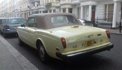 1980 Rolls Royce Corniche convertible