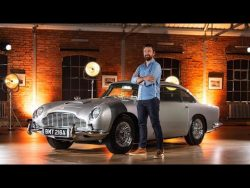 NEW Aston Martin DB5 Goldfinger With REAL 007 Gadgets! – YouTube