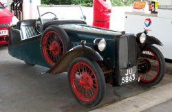1937 BSA TW10 3 Wheeler.