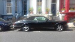2001 Bentley Azure (by Mulliner) convertible