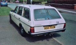 1981 Mercedes 300TD. An Austrian import; it was LHD